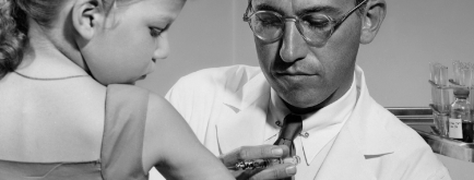 Polio Vaccine Invented